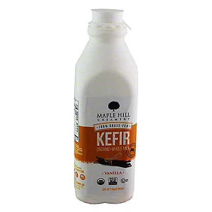 Maple Hill Creamery Organic Vanilla Kefir, 32 oz