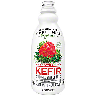 Maple Hill Creamery Organic Strawberry Kefir, 32 oz