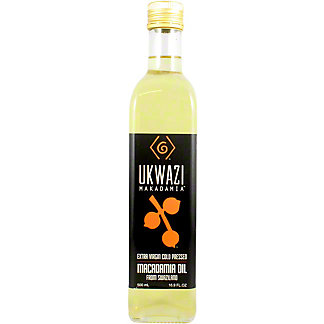 Ukwazi Macadamia Extra Virgin Macadamia Oil, 500 mL
