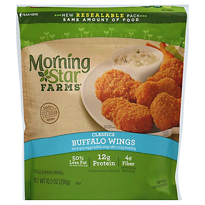 MorningStar Farms MorningStar Farms Veggie Buffalo Wings,10.50 oz