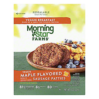 MorningStar Farms MorningStar Farms Veggie Maple Flavored Sausage Patties,6.00 ea