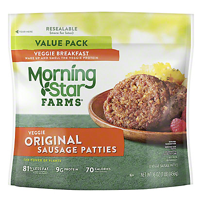 MorningStar Farms MorningStar Farms Veggie Sausage Patties Value Pack,12.00 ea