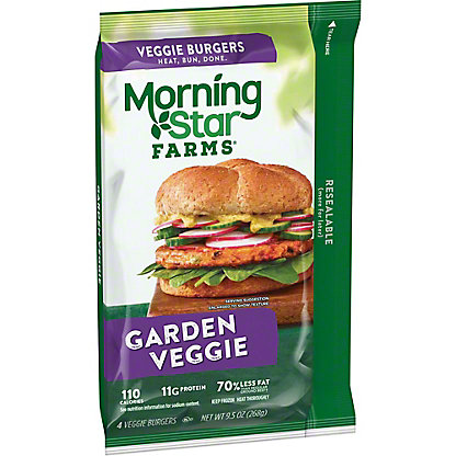 Morningstar Farms Garden Veggie Burgers,4 ea