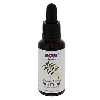 NOW Solutions 100% Pure Neem Oil, 1 oz