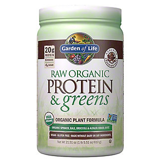 Garden of Life Raw Protein & Greens Chocolate Cacao, 24 oz