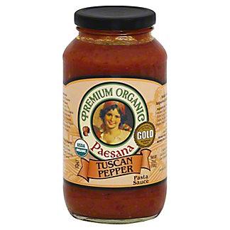 Paesana Pasta Sauce Organic Tuscan Pepper, 25 oz