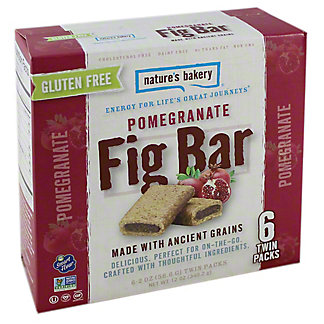 Natures Bakery Pomegranate Fig Bars,6.00 ea