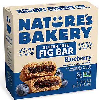 Natures Bakery Blueberry Fig Bars,6.00 ea