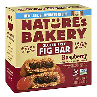Nature's Bakery Raspberry Fig Bar, 6 ct