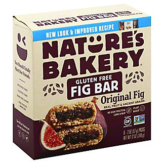 Natures Bakery Fig Fig Bar,6.00 ea