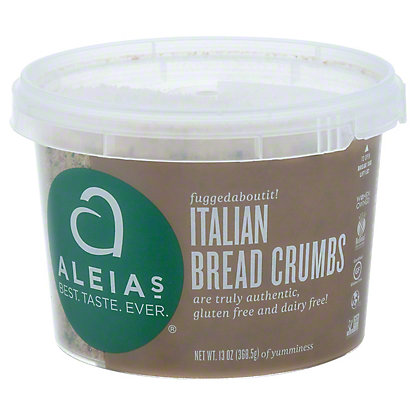 Aleias Aleias Gluten Free Italian Breadcrumbs,13 oz