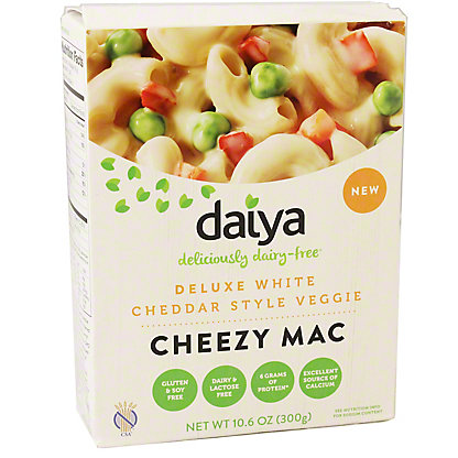 Daiya Cheezy Mac Cheddar Style Veggie, 10.60 oz