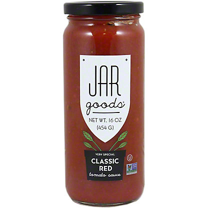 Jar Goods Classic Red Tomato Sauce,16 oz