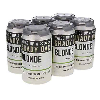 Branchline Shady Oak Blonde Ale,6/12OZ