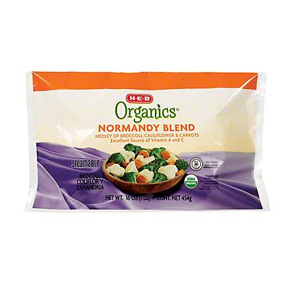 H-E-B Organics Steamable Normandy Blend,16 oz