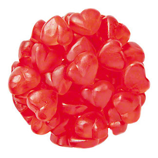 Ferrara Gummy Cherry Hearts, Sold by the pound