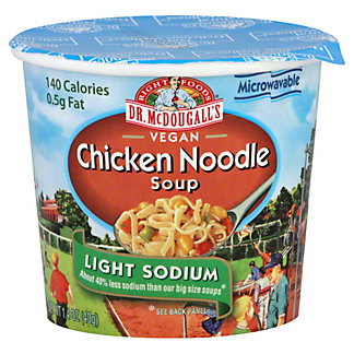 Dr McDougalls Chicken Noodle Soup Low Sodium, 1.4 oz