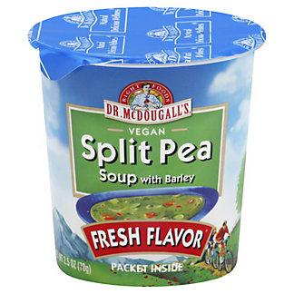Dr McDougalls Fresh Flavor Split Pea Soup, 2.5 oz