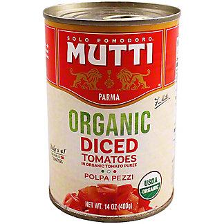 MUTTI Organic Chopped Tomatoes,14 OZ