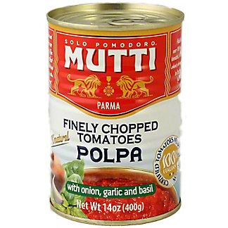 Mutti Finely Chopped Tomatoes Onion Garlic & Basil, 14.00 oz