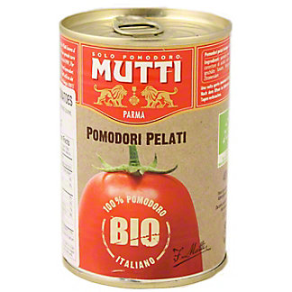 MUTTI Organic Whole Peeled Tomatoes, 14 OZ