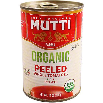MUTTI Organic Whole Peeled Tomatoes, 14 OZ