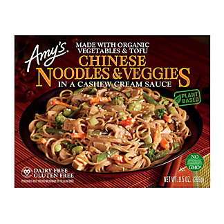 Amy's Chinese Noodles & Veggies With Cashew Cream Sauce,9.5 oz