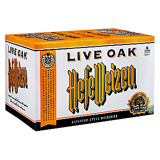 Live Oak Hefeweizen,6/12OZ