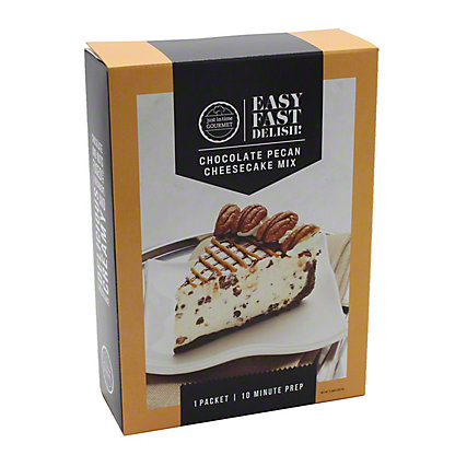 Just in Time Gourmet Chocolate Pecan Cheesecake, 8.29 oz