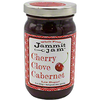 JAMMIT JAM Cherry Clove Cabrnet, 8.00 oz