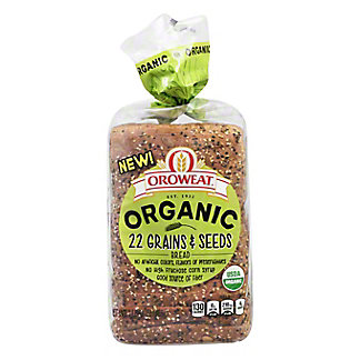 Oroweat Organic 22 Grains & Seeds Bread, 18 oz
