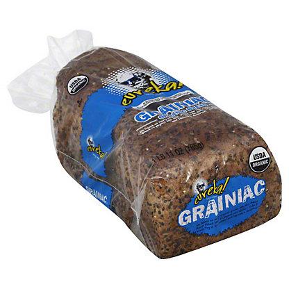Eureka Organic Bread, Grainiac,27 oz