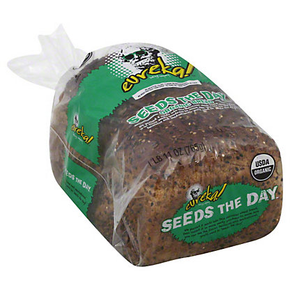 Eureka Organic Bread, Seeds the Day,27 oz