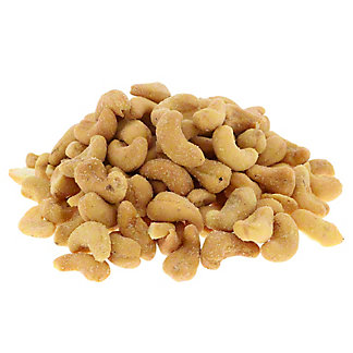 Woodstock Farms Organic Apple Honey Cashews, sold by the pound