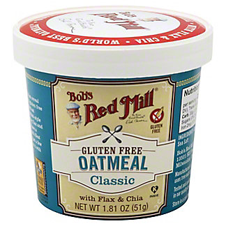 Bobs Red Mill Classic Oatmeal Cup,1.81 oz