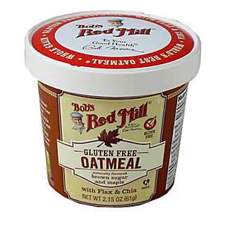 Bobs Red Mill Brown Sugar and Maple Oatmeal Cup,2.15 oz