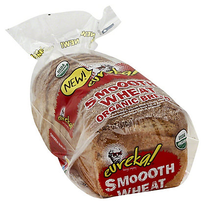 Eureka Organic Bread, Smooth Wheat,18 OZ