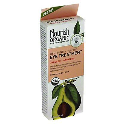 Nourish Organic Renewing + Cooling Eye Treatment Cream, .5 oz