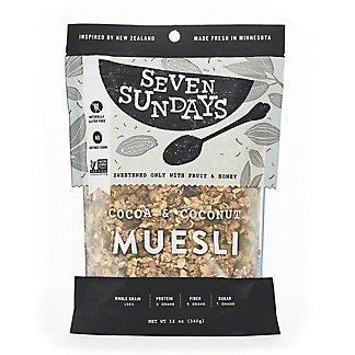 Seven Sundays Muesli Cocoa And Coconut,12 oz