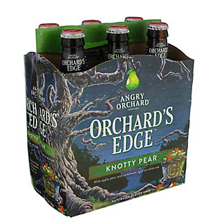 Angry Orchard Edge, Knotty Pear 6 pk,12 oz