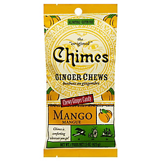Chimes Ginger Chews Mango, 1.5 oz