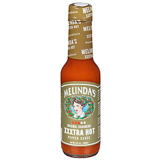 Melindas SAUCE HOT XXXTRA,12 Packs of 5 OZ