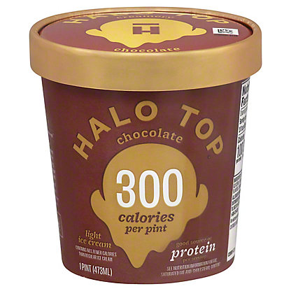 Halo Top Halo Top Light Ice Cream Chocolate,1 pt