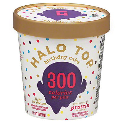 Halo Top Halo Top Light Ice Cream Birthday Cake,1 pt