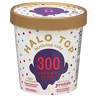 Halo Top Halo Top Light Ice Cream Birthday Cake,1 pt