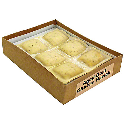 Central Market Aged Goat Cheese Ravioli,12 OZ