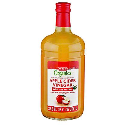 H-E-B Organics Apple Cider Vinegar,1 LT