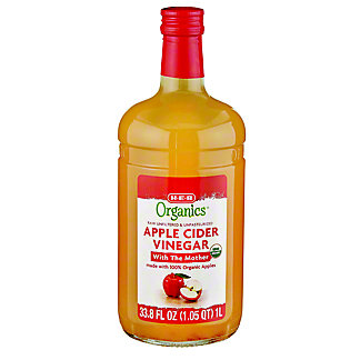 H-E-B Organics Apple Cider Vinegar,1 LT