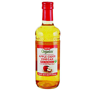 H-E-B Organics Apple Cider Vinegar,16.9OZ