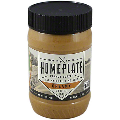 Homeplate Creamy Peanut Butter, 16.00 oz